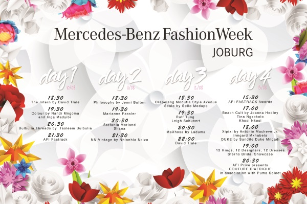 The line-up for MBFWJ ss16
