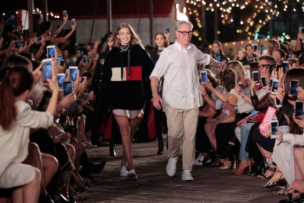 Tommy Hilfiger's awesome Fash Bot